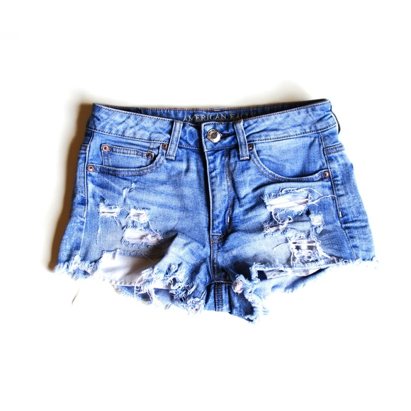 American Eagle Outfitters Pants - High Rise Jean Shorts